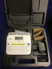 Label Maker Brother P-Touch PT-D400 With AC Adapter And Carrying.