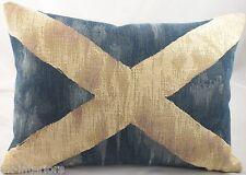 St Saint Andrew Cross bandera escocesa Cojín Shabby Chic
