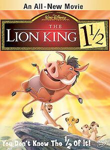 DISNEY The Lion King 1 1/2 (DVD, 2004, 2-Disc Set) MOVIE w/SLEEVE SIMBA TIMON