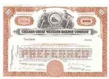 Chicago Great Western Railway Company