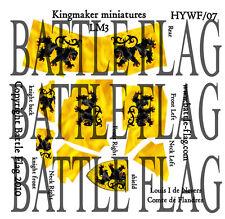 Battle Flag - Louis I de Nevers Comte de Flandres Full Barding (Late Medieval)