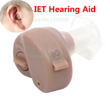 Hearing Aid receiver in canal Sound Amplifier tinnitus Ear Invisible Care Tone