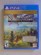 PS4 game Ni No Kuni 2 Revenant Kingdom Day 1 Edition+free Special Sword Set code