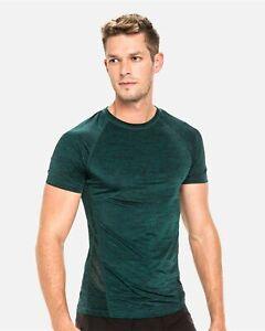 TEAMM8 Triumph t-shirt short sleeve green men gym size XL