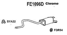 Ford Mondeo MK 3 2.0TDCi 01-07 Klarius Centre Exhaust Silencer FE841X OE 1148391