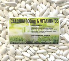 The Vitamine Calcium 600mg Et Vitamine D3 365 Comprimés - Emballé