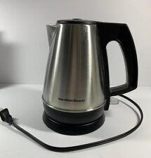 Hamilton Beach Electric Kettle 1 Liter/4.2 Cup Portable 40901. 1500W