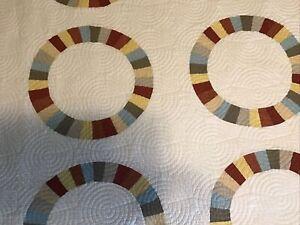 Martha Stewart Quilt Cotton King Pattern Pieced Material/No Preprint EUC