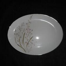 "fine china Japan Eden pattern 12"" x 9"" oval serving platter excellent condition"