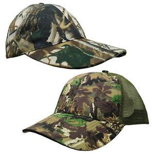 Mens boys Realtree Jungle Print Baseball Cap Fishing Hunting Hiking Hat caps
