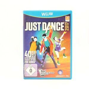 Nintendo Wii U game Just Dance 2017 GER EN GER boxed
