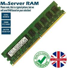 1GB 2GB Memory RAM 4 Micro Servers PC2-6400E DDR2 800MHz 240 ECC Unbuffered Lot