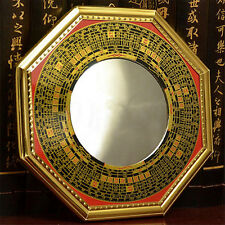Chinese Era Oriental Safe Protection Feng Shui Home House Convex Bagua Mirror