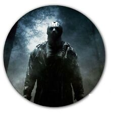 "Jason Friday the 13th #2 Slip mat 12"" LP Scratch Pad DJing Slipmat Audiophile"