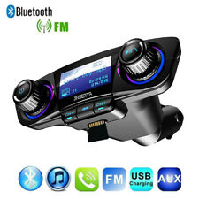 Car MP3 Bluetooth FM Transmitter Player Hand Free Radio Adapter Dual USB Charger
