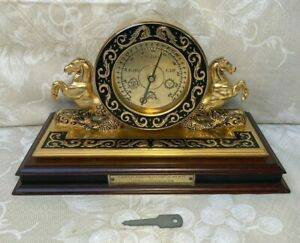 Vtg Franklin Mint Maritime Barometer National Maritime Historical Society 1994