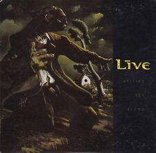 Live - Selling The Drama **Rare Australian Disctronics 3 Trk CD Single** VGC