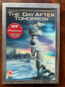 Day After Tomorrow DVD 2004 Disaster Film Movie 2-Disc w/ Lenticular Slipcover