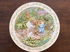 Beatrix Potter Collectable Plate - The Tale Of Tom Kitten