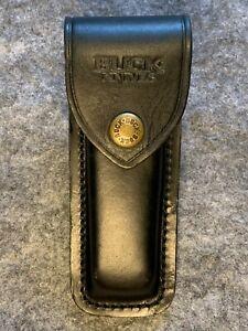 Buck Knives Black Leather Sheath for Model 110