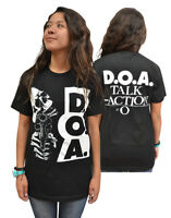 """D.O.A. """"Skull"""" Double Sided T-Shirt - FREE SHIPPING"""