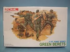 Green Berets 'Nam' Series Dml Model Kit #3309 Cib Sealed