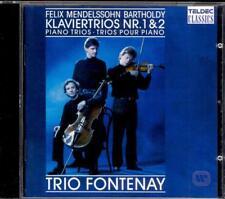 MENDELSSOHN - Piano Trios 1 & 2 - TRIO FONTENAY - Teldec