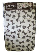 Couchage, paniers et corbeilles lavable en machine marrons en polyester pour chien