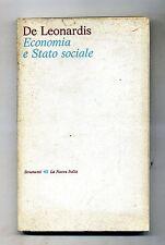 De Leonardis # ECONOMIA E STATO SOCIALE # La Nuova Italia 1976 1A ED.