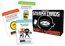 Gamewright Sneaky Cards Play It Forward Become A Secrent Agent Of Joy Card Game