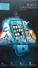 New open LifeProof iPhone 5/S Teal fre Series Waterproof Case - Touch ID