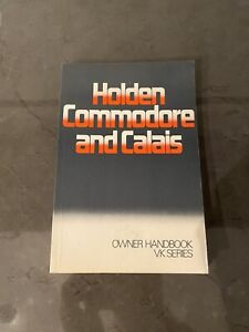 Holden VK Commodore Owners Manual NOS Brock HDT SS. Brand New Never Written In