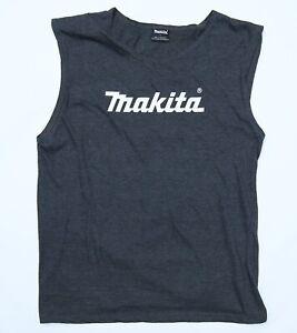 Makita Tools Men's Muscle Shirt Singlet Size Large