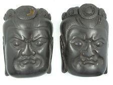 ANTIQUE BODHISATTVA YAB YUM & TANTRA WISDOM & COMPASSION SPLIT BUDDHA HEAD