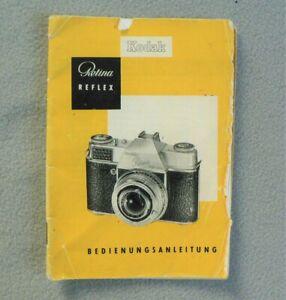 Kodak Retina Reflex Bedienungsanleitung