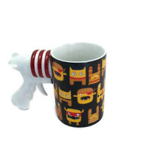 "Dartington Crystal - Space Gun Coffee Mug - ""Outta Get Ya"""