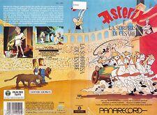 ASTERIX E LA SORPRESA DI CESARE (1985) VHS ORIGINALE 1ª EDIZIONE 1989