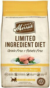 Merrick Limited Ingredient Diet Grain Free Dry Cat Food Chicken