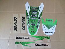 FX  FRONT & REAR FENDER  TRIM  GRAPHICS KAWASAKI KX250F 2004 2005