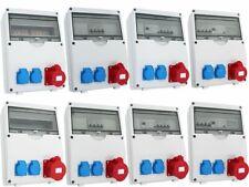 Wandverteiler Baustromverteiler Stromverteiler Steckdosenverteiler Stromzähler 6