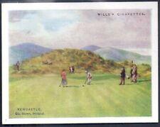 WILLS-GOLFING GOLF (L25)-#13- NEWCASTLE CO. DOWN IRELAND