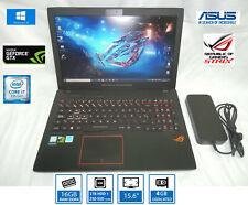 "PORTATIL ASUS ROG GAMING 15,6"" i7 7ª+NVIDIA 1050 4GB+16GB DDR4+SSD 250GB+1TB HDD"