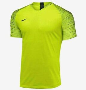 Nike Vaporknit II 2020 volt Soccer Football Jersey AQ2674-702 Men's M/medium