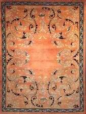 Tappeto Meraviglioso Art Deco Nichols antico 1930 - 280x185 cm