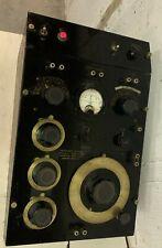 Vintage General Radio Impedance Bridge Type 650 A Cool Old Prop Powers Up
