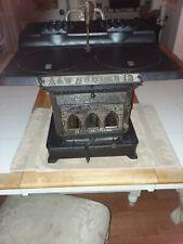 Antique 1884 Adams & Westlake kerosene cast iron wick cook stove
