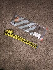 off white industrial belt authentic