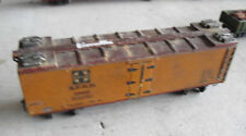 Vintage Oo Scale Wood & Brass Santa Fe Sfrd Boxcar