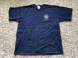 Vintage Walt Disney World Magic Kingdom Mickey Fire Department XL Shirt
