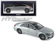 NOREV 1:18 2018 MERCEDES-BENZ S-CLASS AMG DIE-CAST SILVER 183479